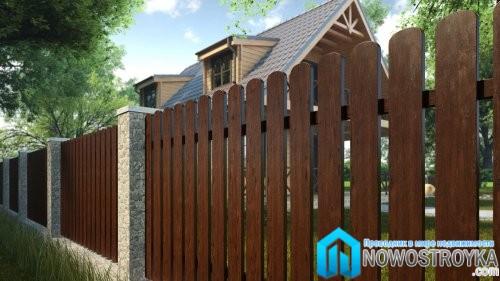 Обновления деревянных ограждений