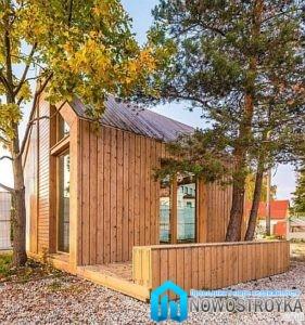 Как защитить деревянный садовый дом