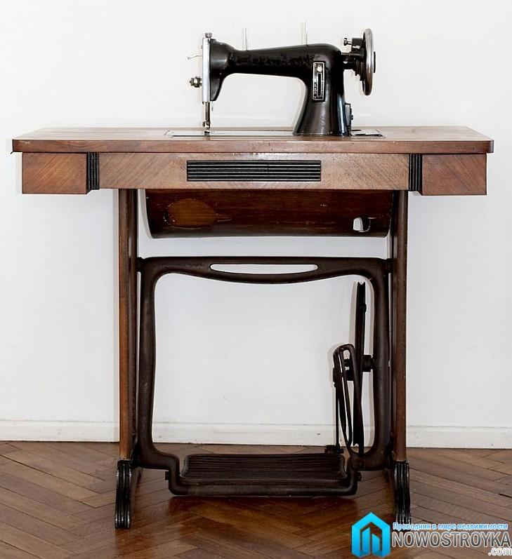 Реконструкция старой швейной машины