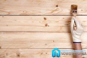 Олифа - естественная защита древесины