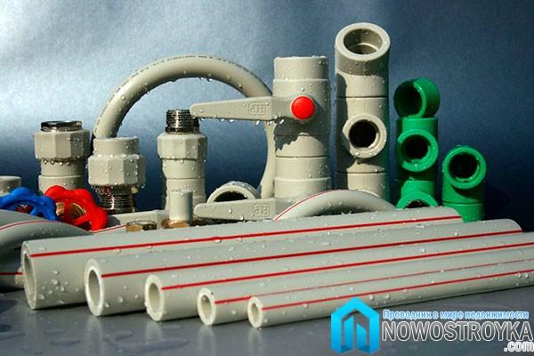 Трубы полипропиленовые для отопления