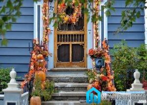Осенние цвета в оформлении интерьера