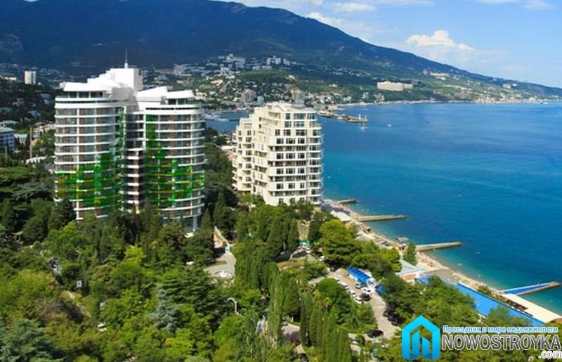 роскошные апартаменты на берегу моря