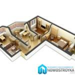 Особенности реализации 3х-комнатных квартир